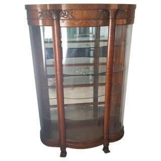 1900s Antique China Cabinet