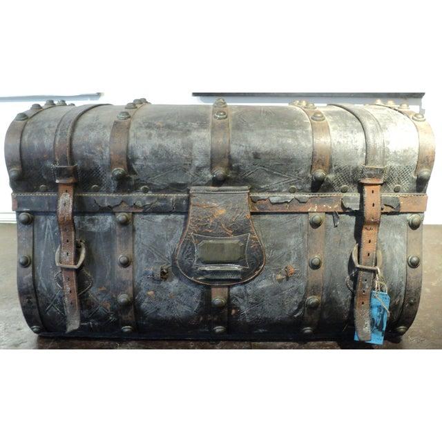 Antique Storage Trunk - Image 3 of 11