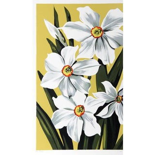 "1980 ""Daffodils"" Print by Lowell Blair Nesbitt"