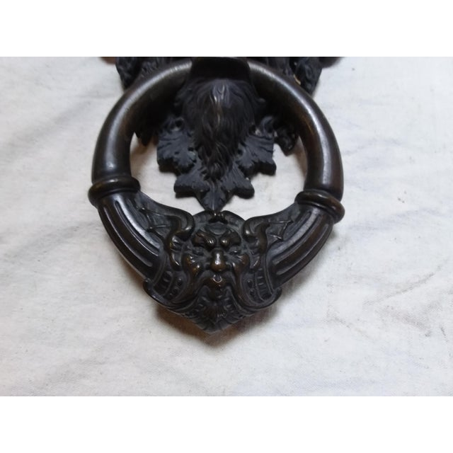 Bronze Mythical Creature Door Knocker - Image 5 of 6