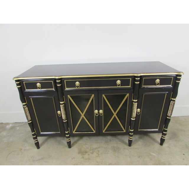 Maison Jansen Black Sideboard - Image 2 of 9