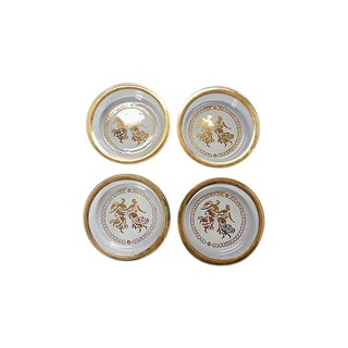Hollywood Regency Coasters- Set of 4
