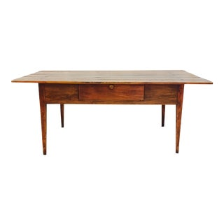 Antique Harvest Farm Table