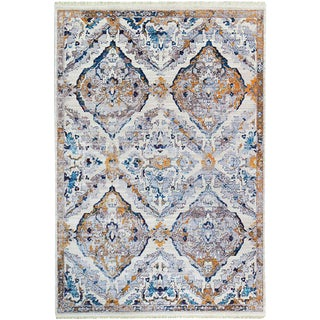 Picasso Soft Diamond Pattern Rug - 5'3'' x 7'7''