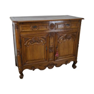 Antique French Louis XV Walnut Sideboard or Server