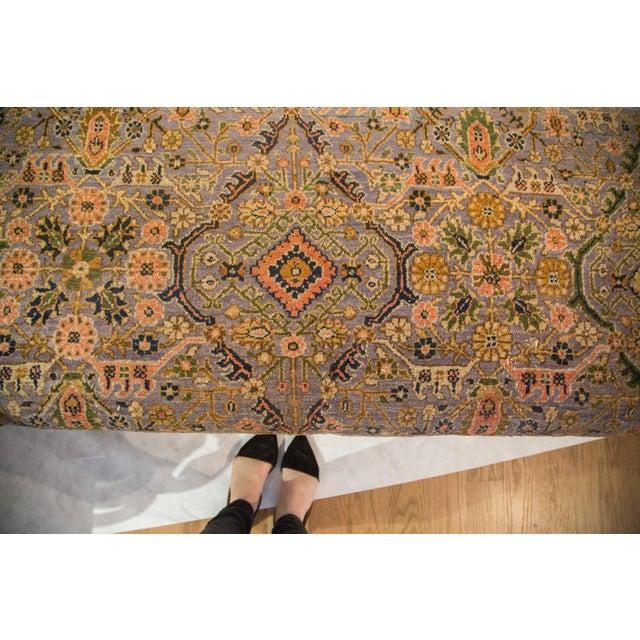 Vintage Persian Rug Ottoman - Image 2 of 5