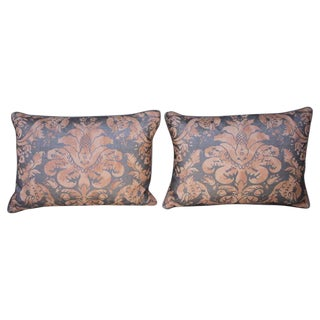 Pair of Authentic Italian Fortuny Pillows