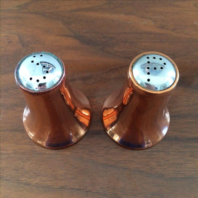 Copper Salt and Pepper Shakers - A Pair - Image 5 of 10