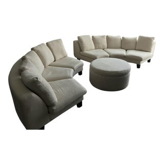 Dubuffet Sofas & Ottoman by Rodolfo Dordoni - Set of 3