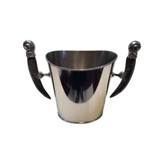 Horn Handle Champagne Bucket