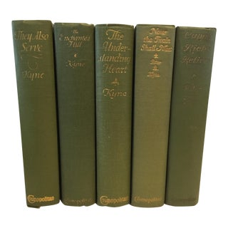 1920's Hardcover Romance Novels by Peter B. Kyne - Set of 5