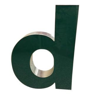 "Lower Case ""d"" Channel Letter"
