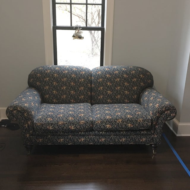 Edward Ferrell Traditional Loveseat - Image 8 of 8