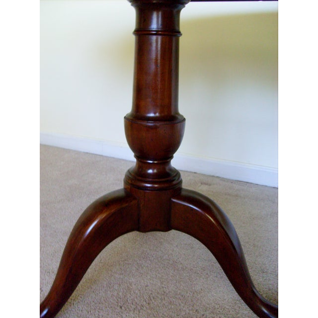 Queen Anne Double Pedestal Dining Table by Baker - Image 4 of 6