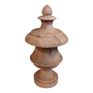 Weathered 19th Century Marble Finial