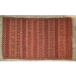 "Image of Vintage Moroccan Wool Straw Rug - 5'10"" x 8'10"""