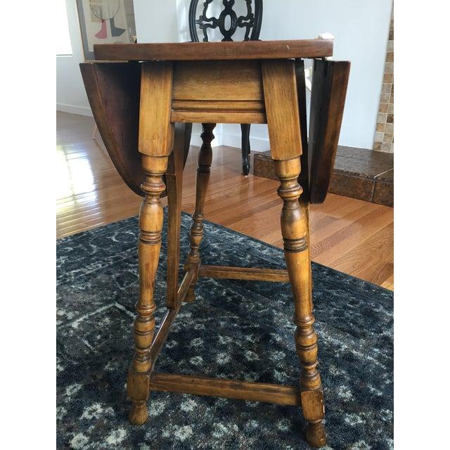 Mary & William Gateleg Side Table - Image 6 of 7