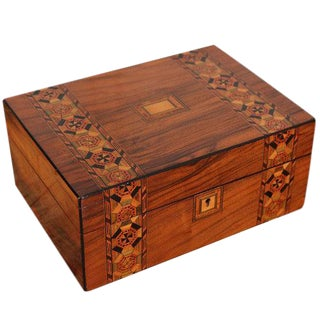 19th Century Parquetry Box
