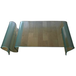 Discovery Glass Coffee Table