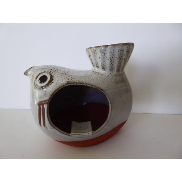 Vintage Ceramic Fish Ashtray / Candle Holder - Image 3 of 5