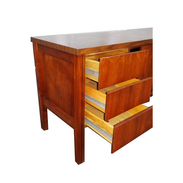 Mid Century Modern Wood Credenza - Image 6 of 6