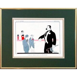 """1910 La Vie Parisienne """"Hunyadi Janos"""" Print"""