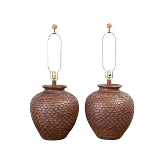 Pottery Lamps by Oxford Lamp Co.