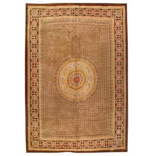 Antique Oversize Late 19th Century French Savonnerie Carpet