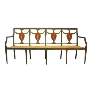 Federal Style Settee by A.H. Davenport Company