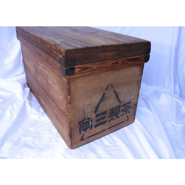 Antique Japanese Merchant Tea Trunk - Image 5 of 9