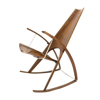 Studio Craft Rocking Chair by Leon Meyer, 1983