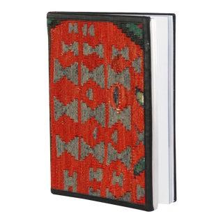 Kilim Journal | Kilim Diary in Tomato Red and Black