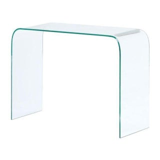 Modern Tempered Glass Console Table