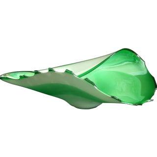 Blown Glass Bowl Centerpiece