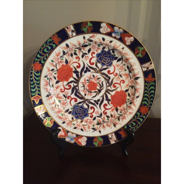 Royal Crown Derby Antique Plates - A Pair - Image 2 of 5