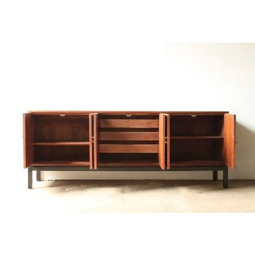 Walnut Credenza Attributed to Harvey Probber - Image 3 of 8