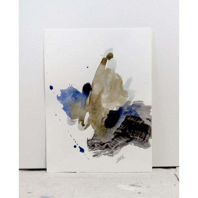 'Motion Study II' Original Abstract Painting - Image 3 of 4