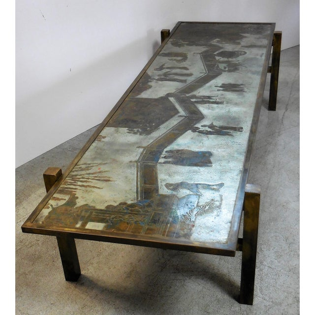 Stunning Tao Coffee Table by Philip and Kelvin LaVerne - Image 4 of 11