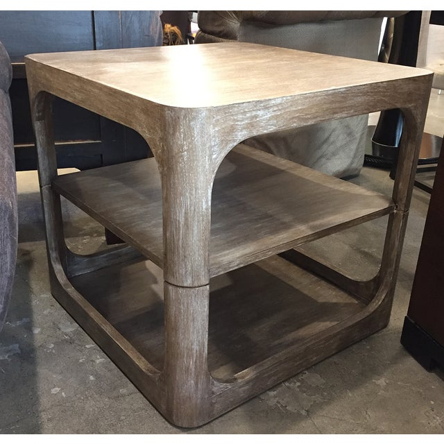 Modern Two-Tier Accent Table - Image 4 of 6