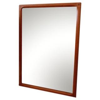 Compact Aksel Kjersgaard Danish Modern Teak Mirror