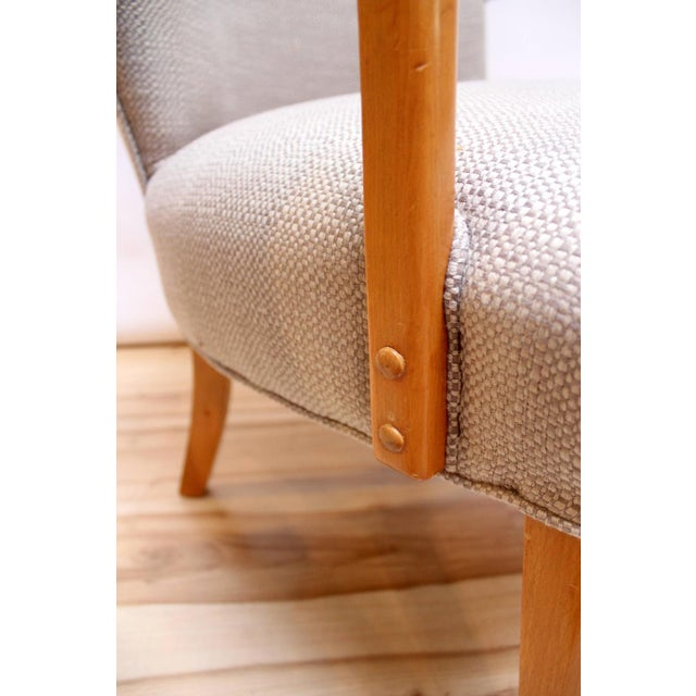 Mid-Century Modern Lounge Chairs - Pair - Image 10 of 10