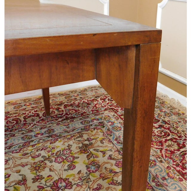 The Deco Stylist Tagged 1960 S Fashion The Deco Haus: 1960s Baker Walnut Parsons Style Dining Table