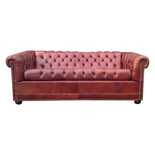 Vintage Chesterfield Pull Out Sofa by Craftwork