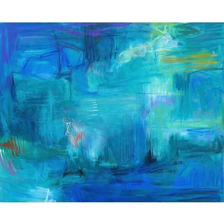 """""""Reflection"""" Extra-Large Abstract Oil Painting by Trixie Pitts"""