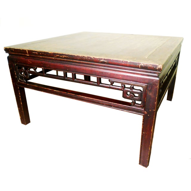 Antique Ming Coffee Table - Image 1 of 8