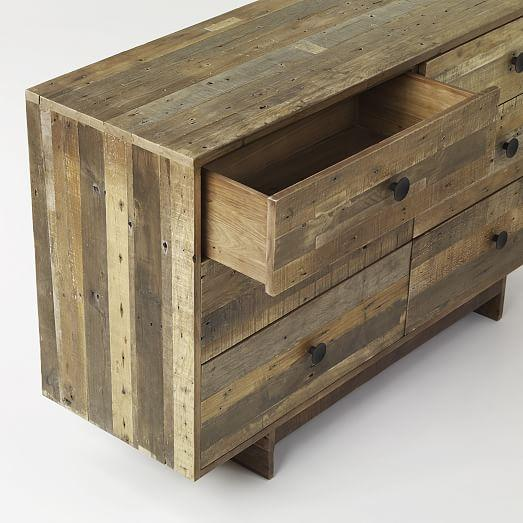 Pine Emmerson Six Drawer Dresser - Image 4 of 5