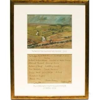 """Across the Swincombe River"" Watercolor"