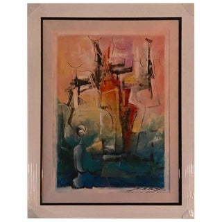 "David Schluss Signed Original ""Abstract Reflections"""