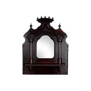 1860s Gothic Revival Wall Mirror