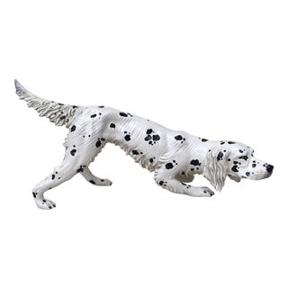 English Setter Figure, Made in Italy